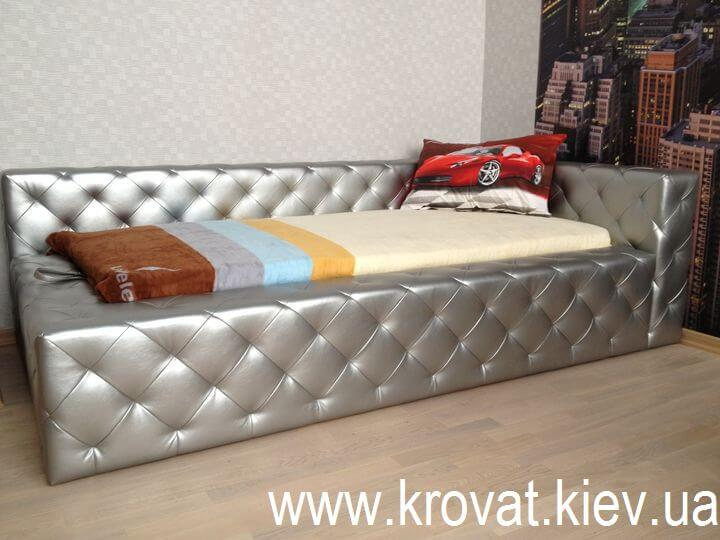 кровать для подростка с втяжками на заказ