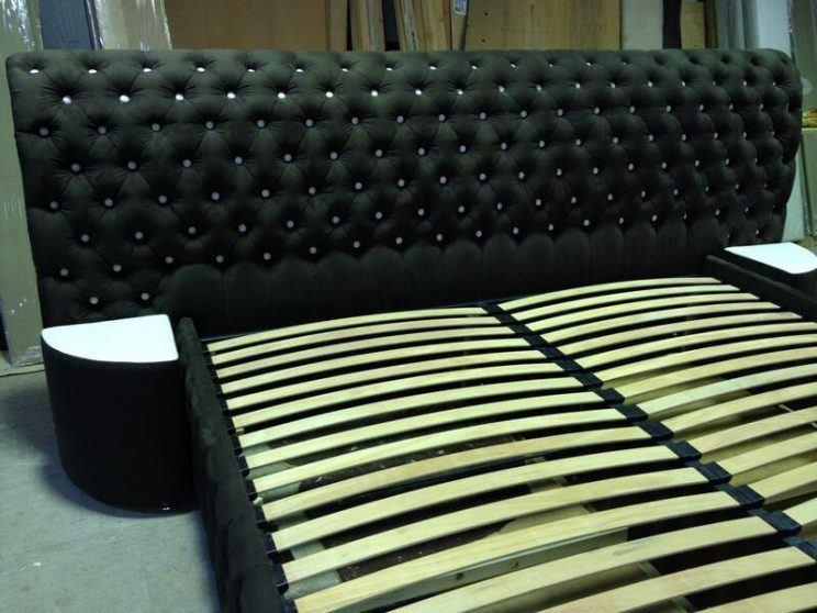 кровать с пуговицами на заказ