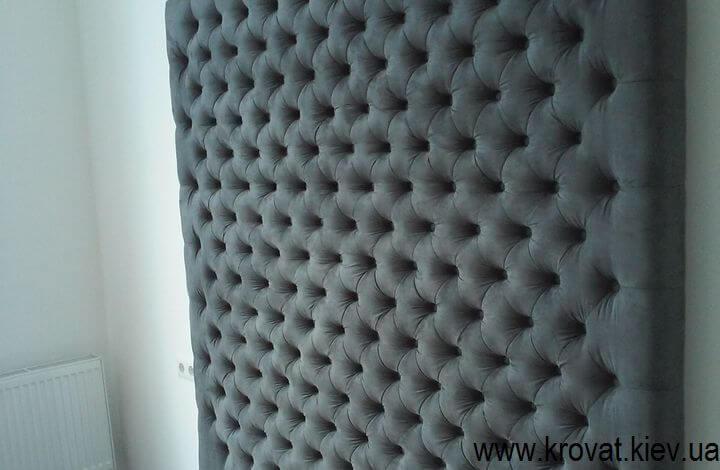 стеновые панели с пуговицами на заказ