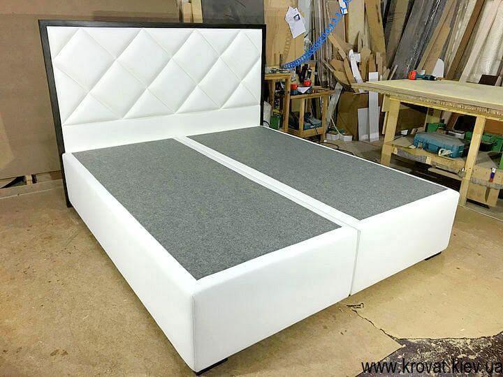 брендовые кровати с высоким спальным местом на заказ