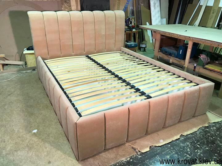 кровати с мягкими изголовьями с коробом