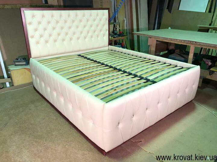 кровати с мягкими изголовьями с ящиком