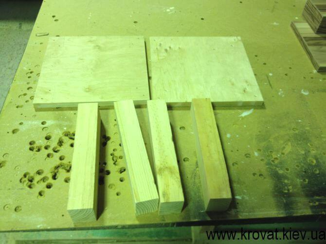 Изготовление квадратного пуфика