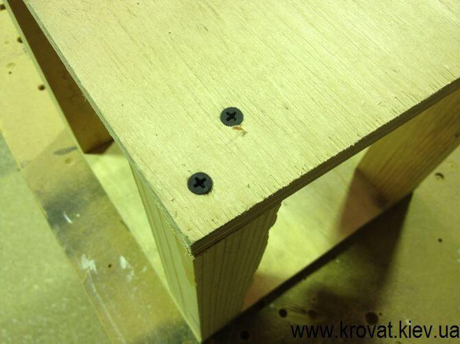 Изготовление квадратного пуфика своими руками