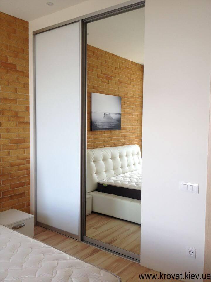вбудована шафа-купе для спальні