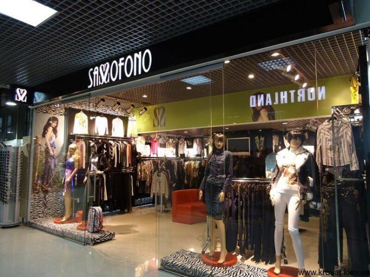 стеновые панели в магазин одежды