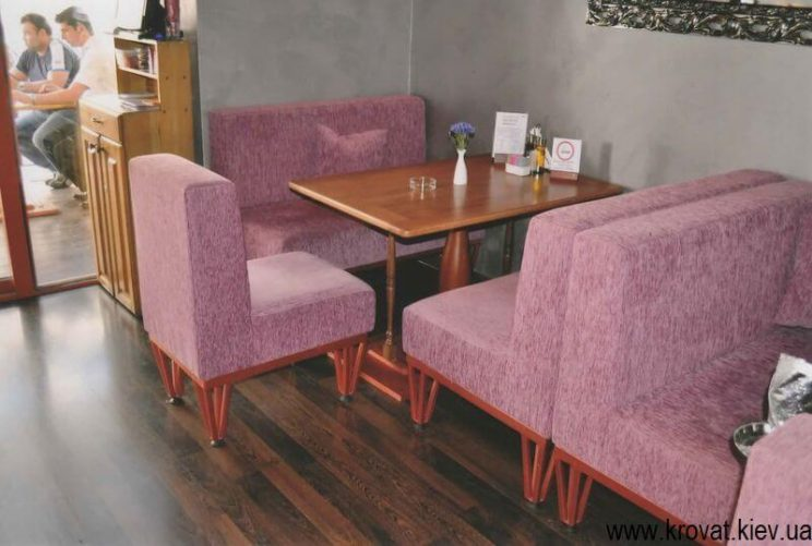 диван для ресторана на заказ