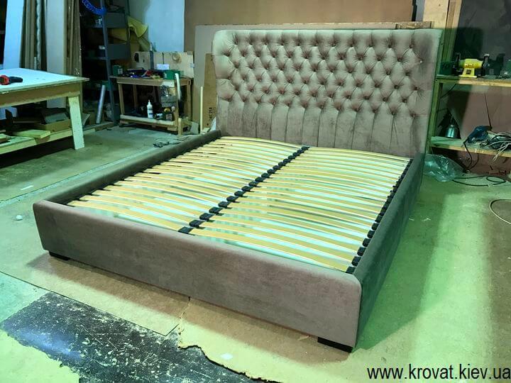 мягкие кровати с крыльями