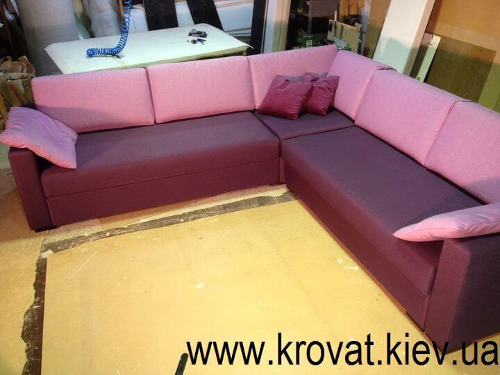 изготовление мягких диванов на заказ