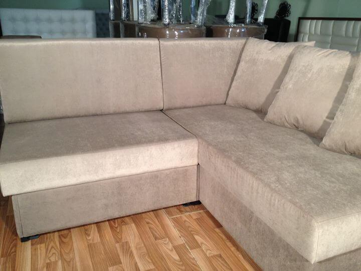 диван с подушками на заказ