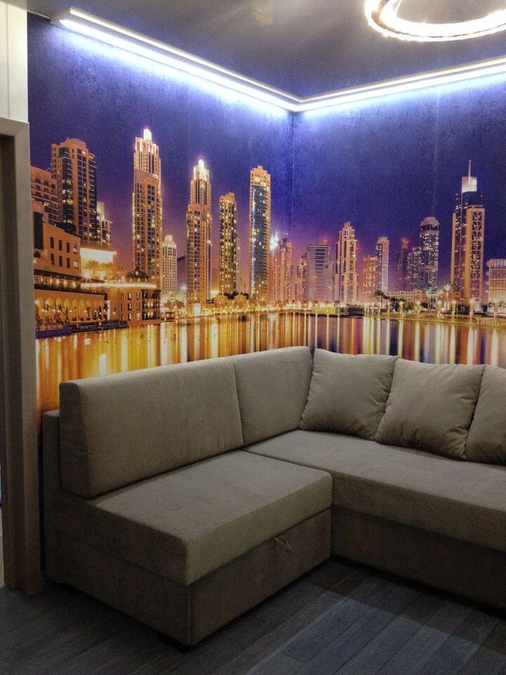 диван в квартиру на заказ