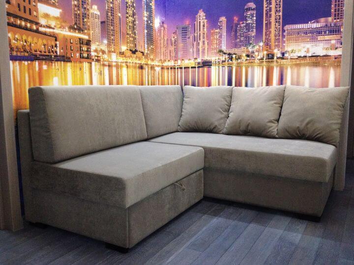 маленький раскладной угловой диван на заказ купить в киеве