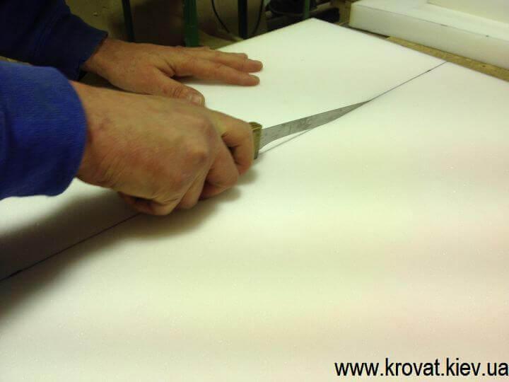 Как сделать мягкие стеновые панели