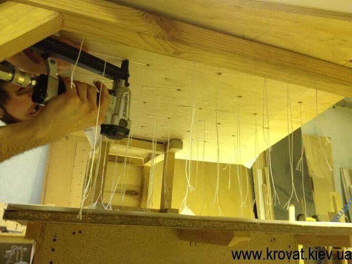 мягкие стеновые панели с пуговицами