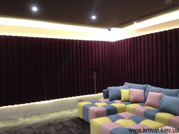 шумоизоляция в кинозал