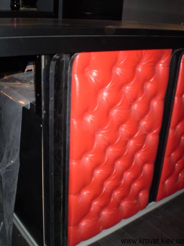 каретная стяжка для барной стойки на заказ