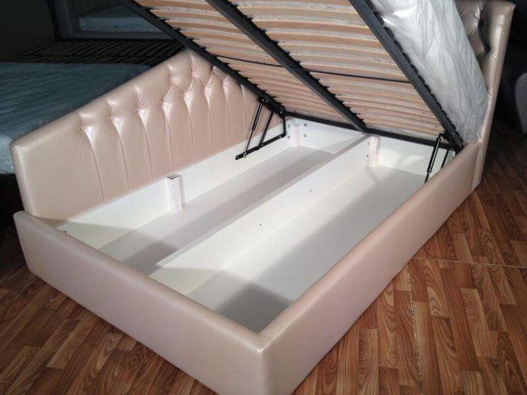 кровать с нишей на заказ