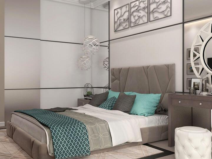 3d проект спальни