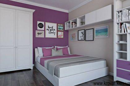 дизайн детской спальни 3d