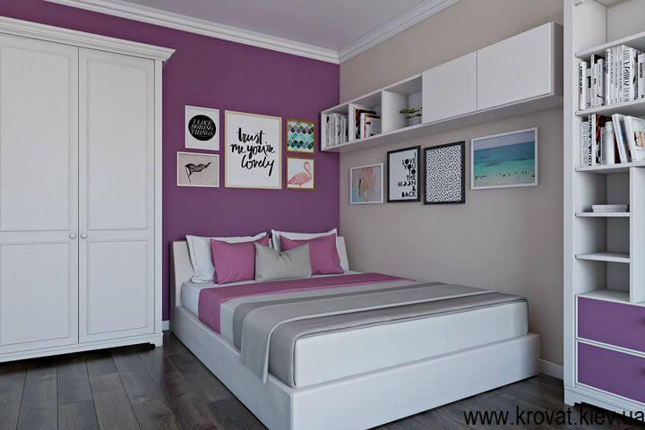 подростковая кровать для девочки