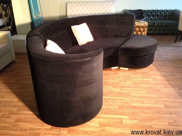 производство полукруглых диванов на заказ