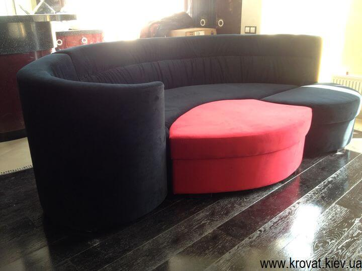производство радиусных диванов на заказ