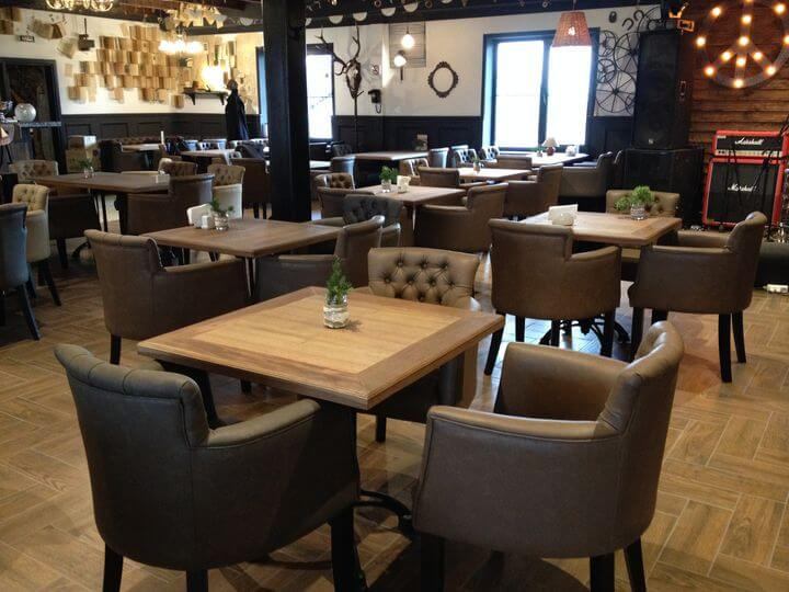 производство мебели в ресторан