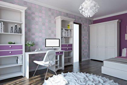 мебель в спальню для девочки 3d