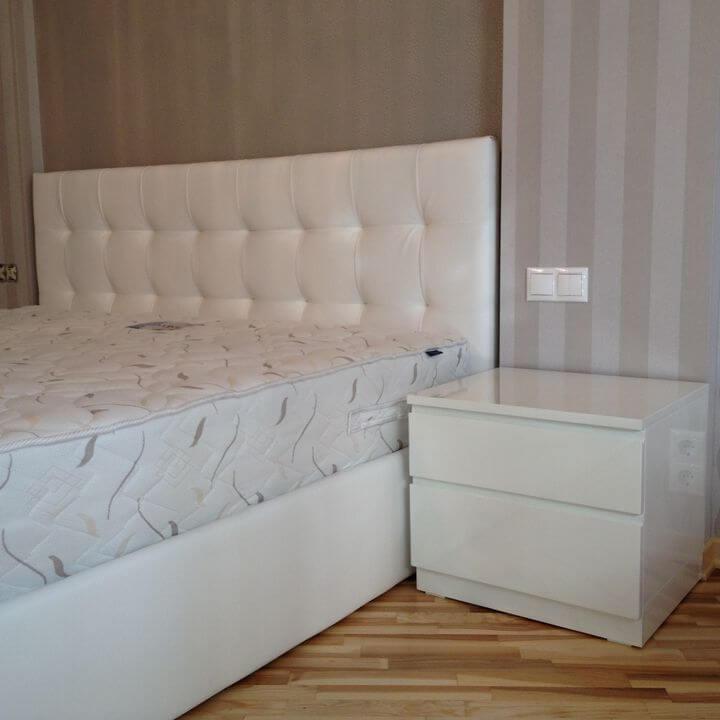 ортопедическая кровать в спальню на заказ