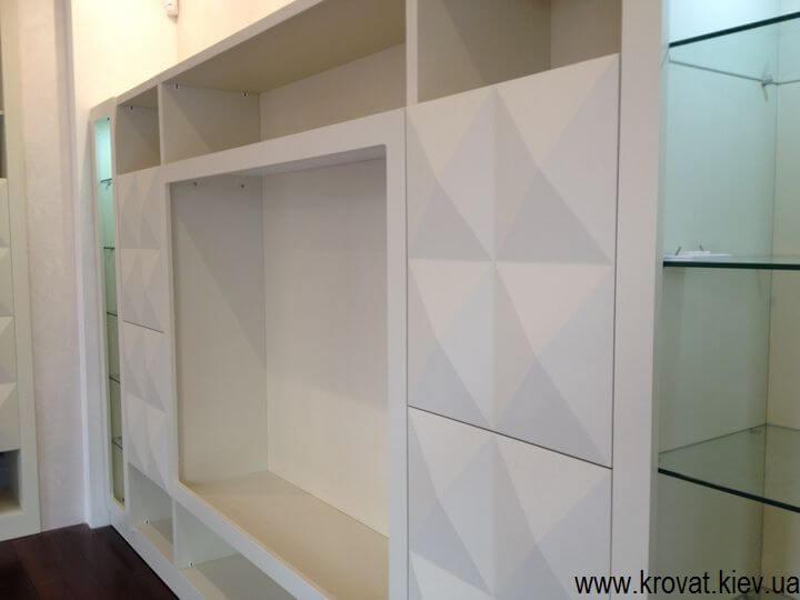изготовление телевизионных стенок на заказ