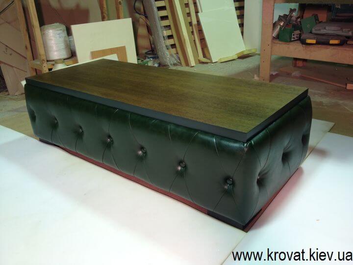 столик Честерфілд виробництво