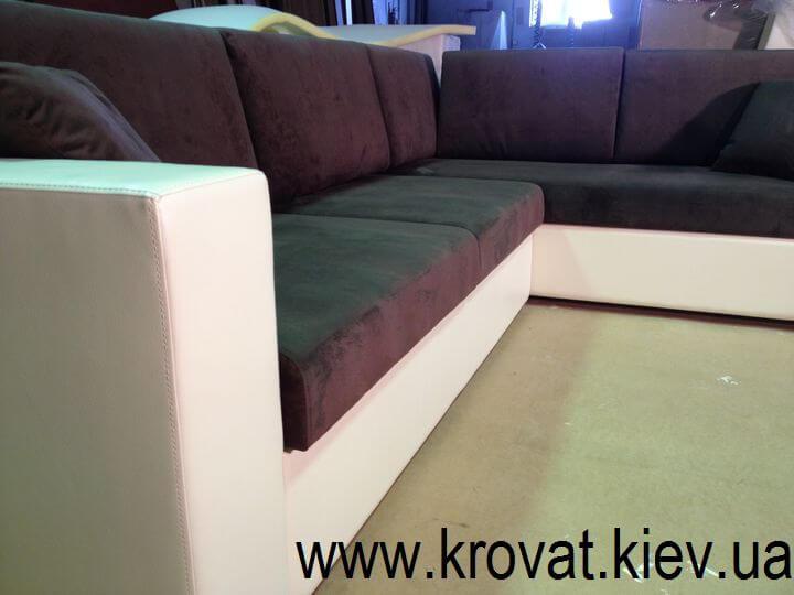 диван с полками на заказ