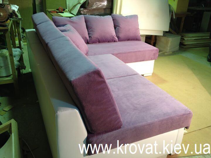 угловой диван без былец