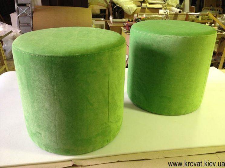 зеленый пуф