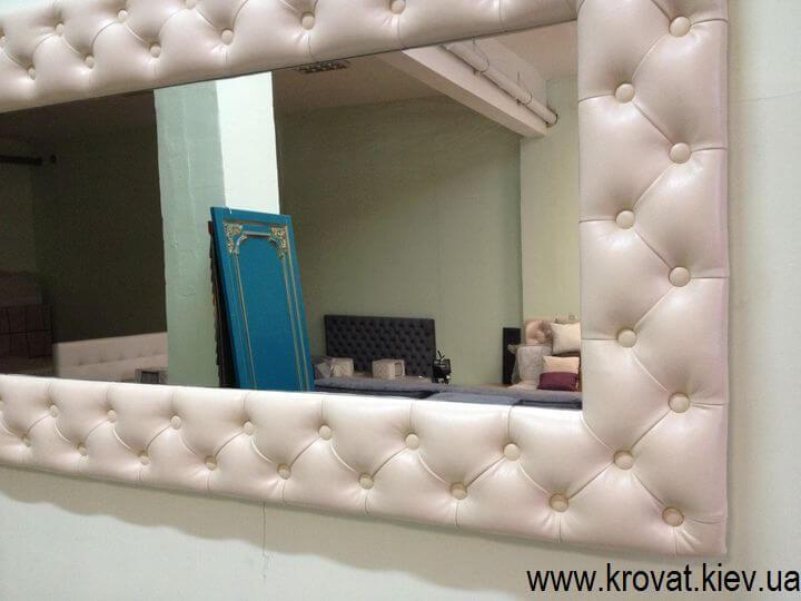 зеркало с пуговицами на заказ