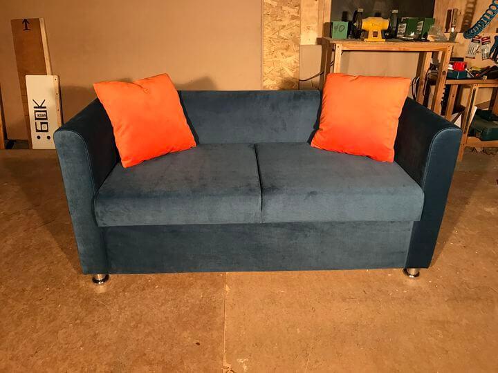 диванчики для кафе с подлокотниками