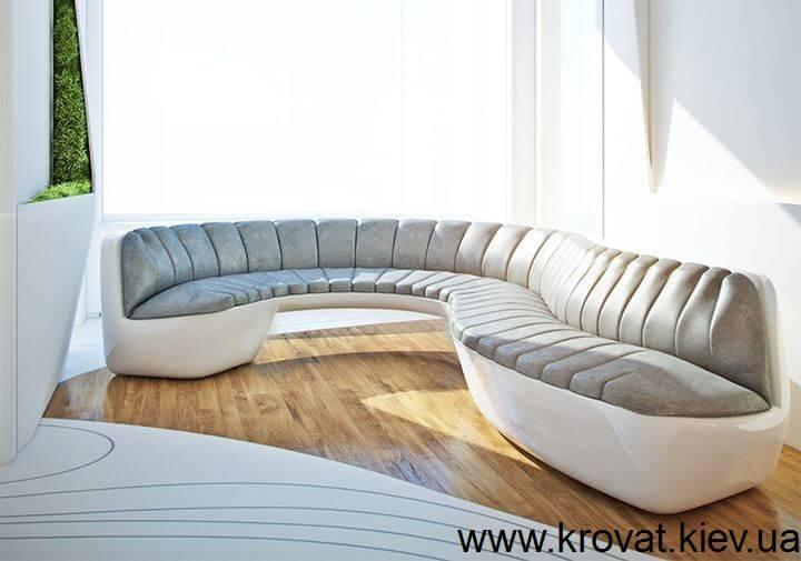 необычный диван в интерьере