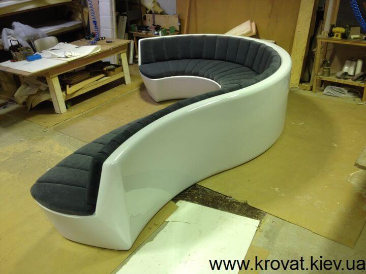 производство необычных диванов