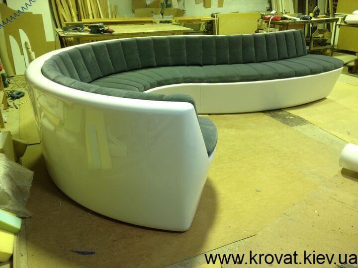 диван из полиэфирной смолы под заказ