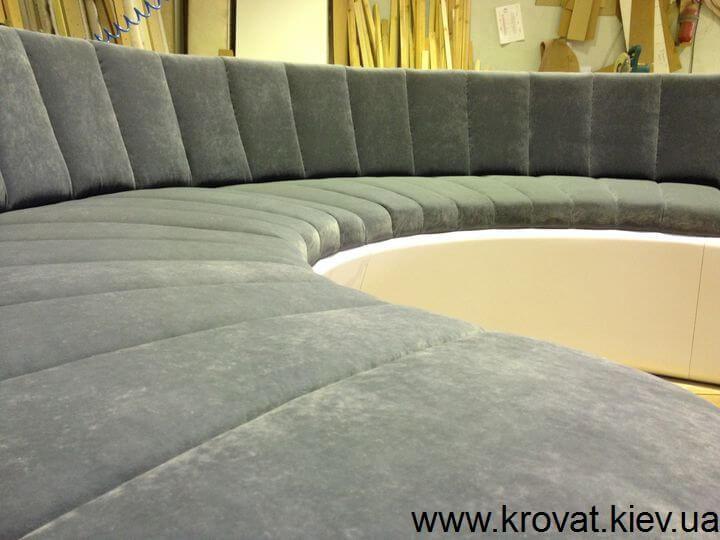 необычный диван производство