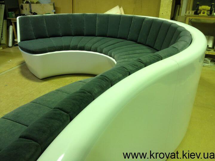 необычный офисный диван на заказ