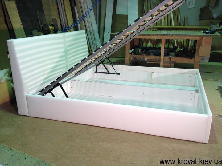 2 спальная кровать с подъемным механизмом