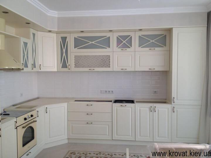 кухня в стиле классика на заказ