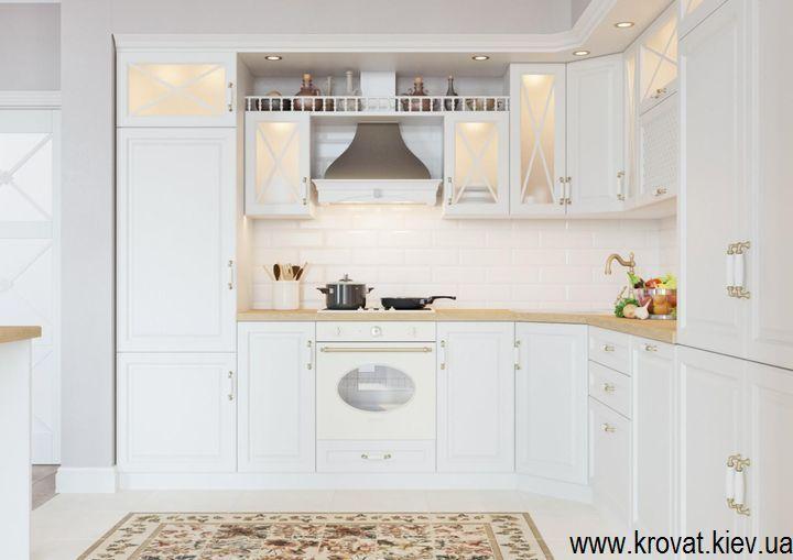 визуализация кухни в классическом стиле