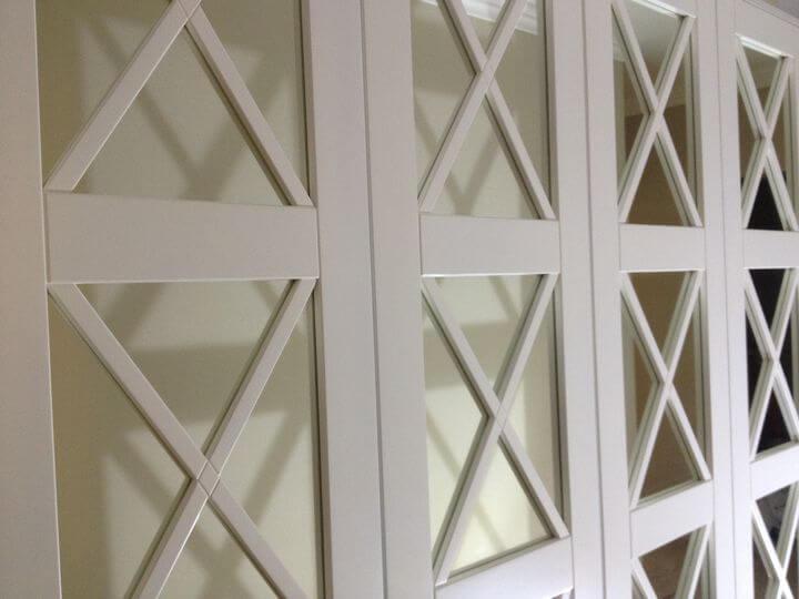 зеркальные фасады для прихожей