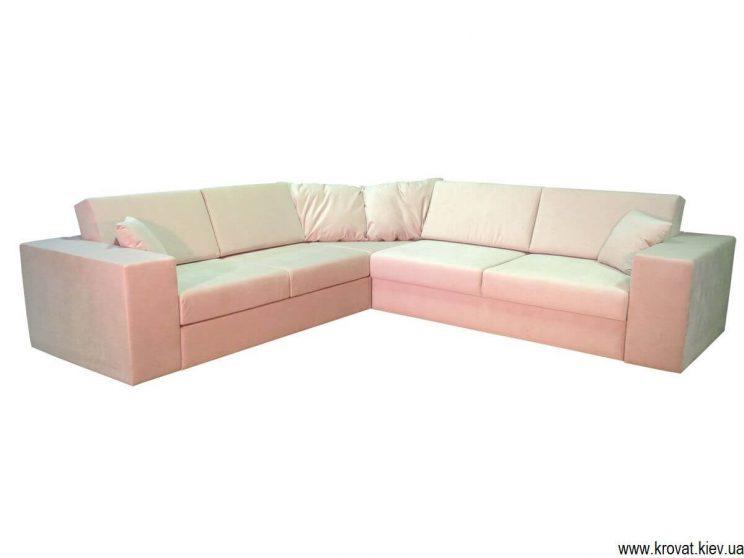 дизайн дивана со срезанным углом