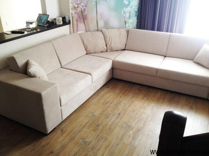 дизайн кутового дивана