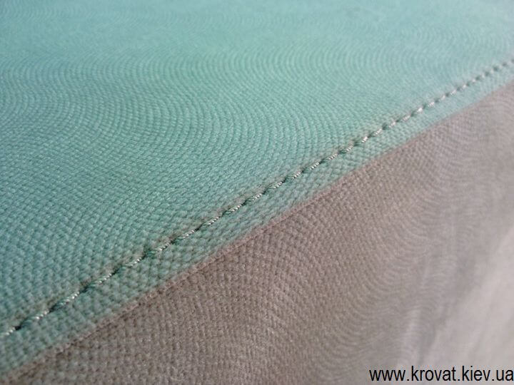 Угловой диван со срезанным углом на заказ
