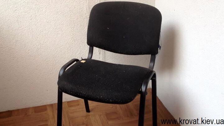 Как перетянуть офисный стул исо