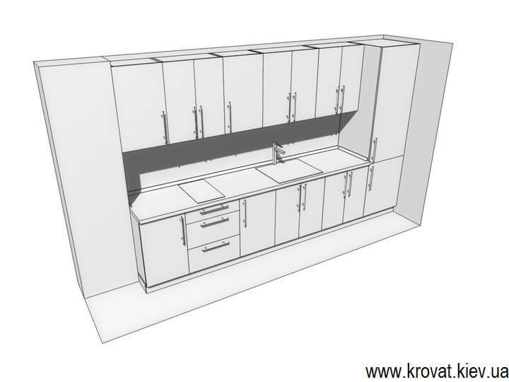 проект кухни в офис